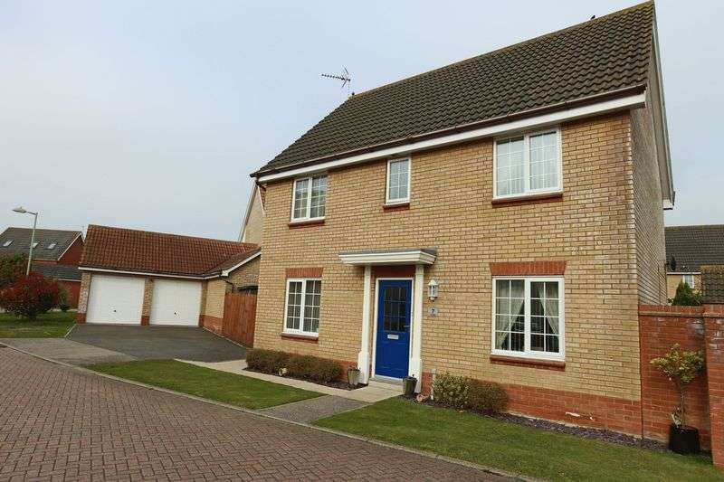 4 Bedrooms House for sale in Easdale, Lowestoft