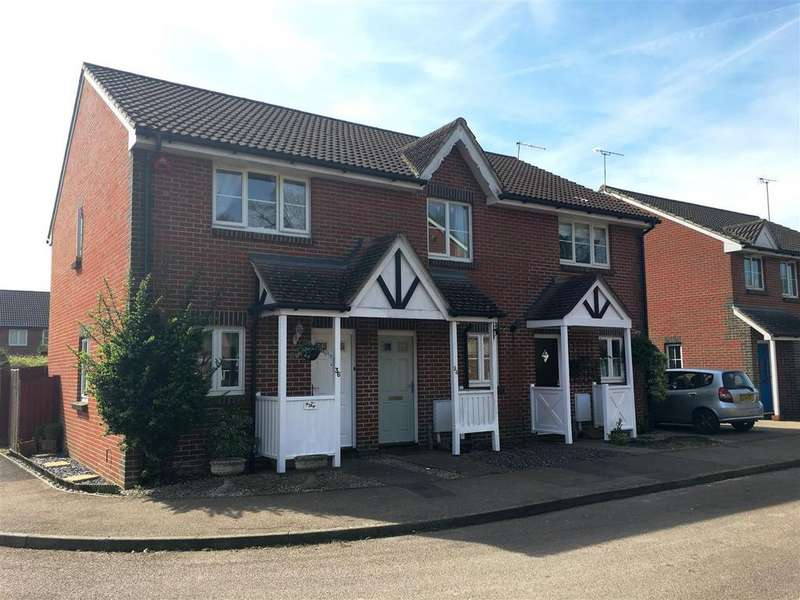 2 Bedrooms Terraced House for sale in Payton Drive, Burgess Hill