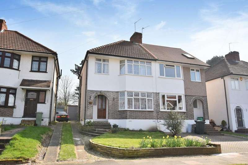 3 Bedrooms Semi Detached House for sale in Oakdene Avenue, Chislehurst, BR7