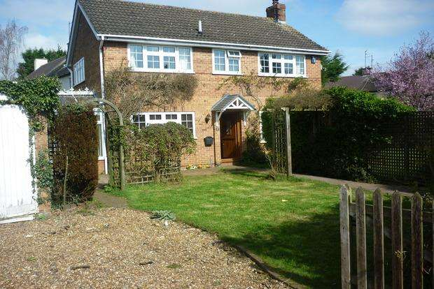3 Bedrooms Detached House for sale in Vicarage Lane, Mears Ashby, Northampton, NN6