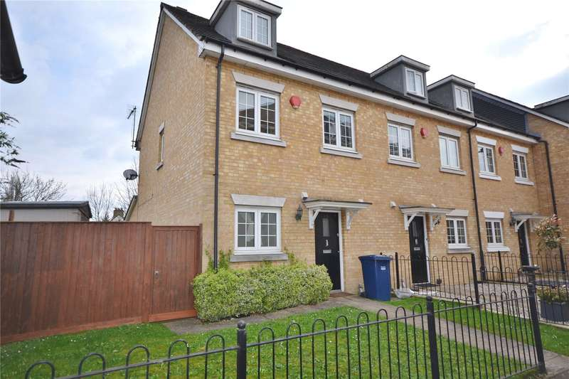 3 Bedrooms End Of Terrace House for sale in Brownlow Close, Barnet, Hertfordshire, EN4