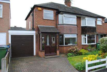 3 Bedrooms Semi Detached House for sale in Almond Tree Road, Cheadle Hulme, Cheadle