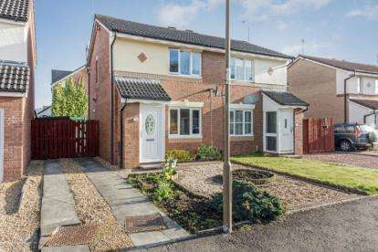 2 Bedrooms Semi Detached House for sale in Gambeson Crescent, Stirling