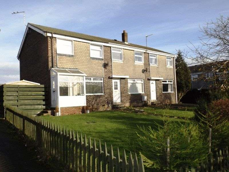 3 Bedrooms Terraced House for sale in Aln Court, Ellington - Three Bedroom End Terrace House
