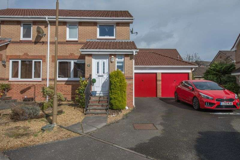 3 Bedrooms Semi Detached House for sale in Cornfield Place, Eliburn, Livingston EH54 6TE