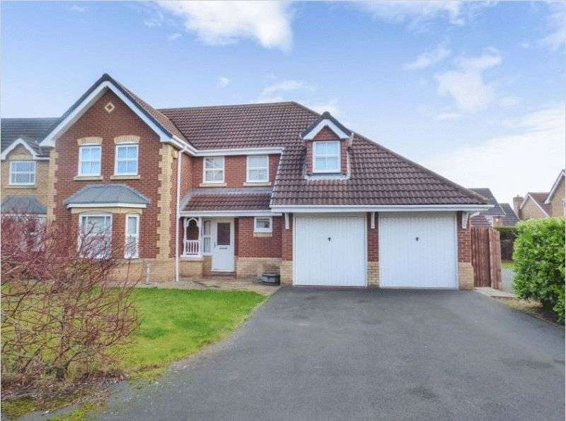 4 Bedrooms Detached House for sale in Moralee Close, Newcastle upon Tyne, NE7 7GE