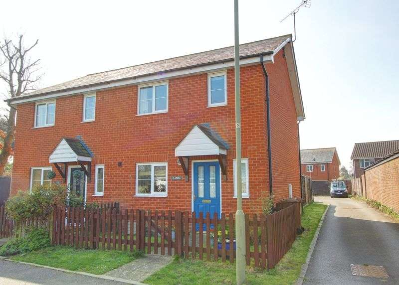 3 Bedrooms Semi Detached House for sale in Chapel Cottages, North Baddesley, Hampshire