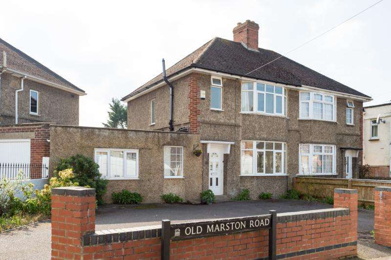 4 Bedrooms Semi Detached House for sale in Old Marston Road, Marston, Oxford, Oxfordshire