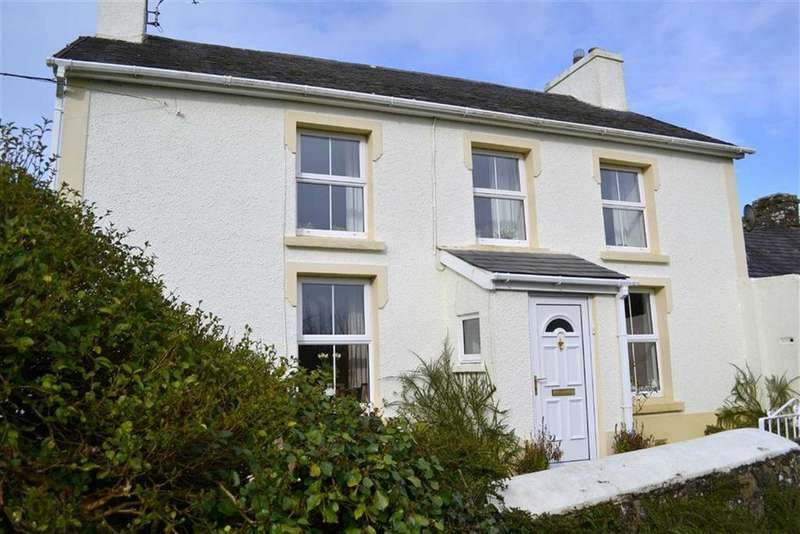 4 Bedrooms Cottage House for sale in Llwyndafydd Road, Caerwedros, Carmarthenshire