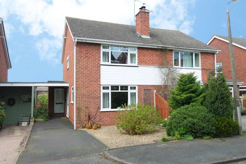 3 Bedrooms Semi Detached House for sale in Oakwood Road, Bewdley, DY12