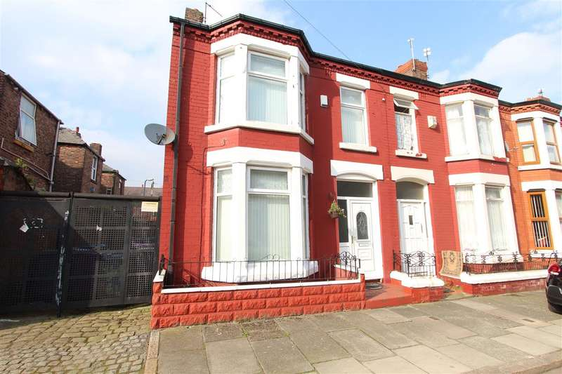 3 Bedrooms End Of Terrace House for sale in Hendon Road, Kensington, Liverpool