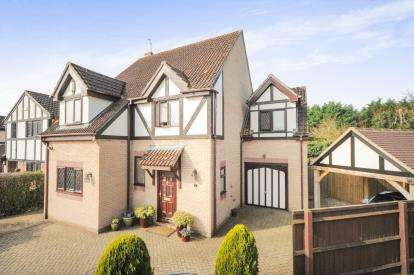 4 Bedrooms Detached House for sale in Manor Gardens, Rodbourne Green, Swindon, Wiltshire