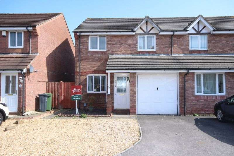 3 Bedrooms Semi Detached House for sale in Aston Place, St.Mellons