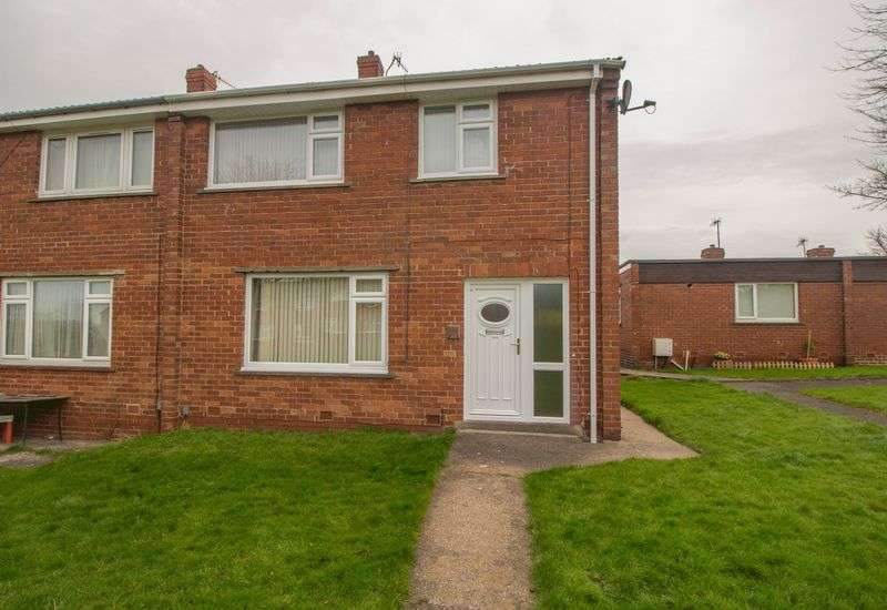 3 Bedrooms Semi Detached House for sale in Lily Close, Blaydon