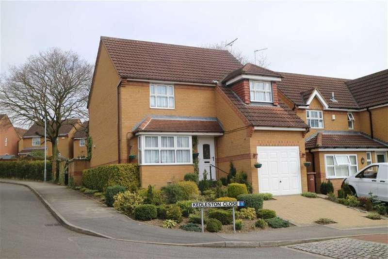3 Bedrooms Detached House for sale in Kedleston Close, Huthwaite, Notts, NG17