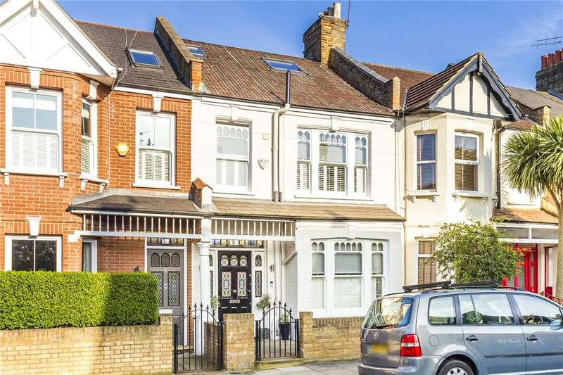 4 Bedrooms Terraced House for sale in Engadine Street, Southfields, London, SW18