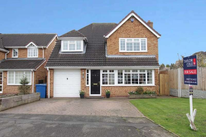 4 Bedrooms Detached House for sale in Kent Avenue, Fazeley