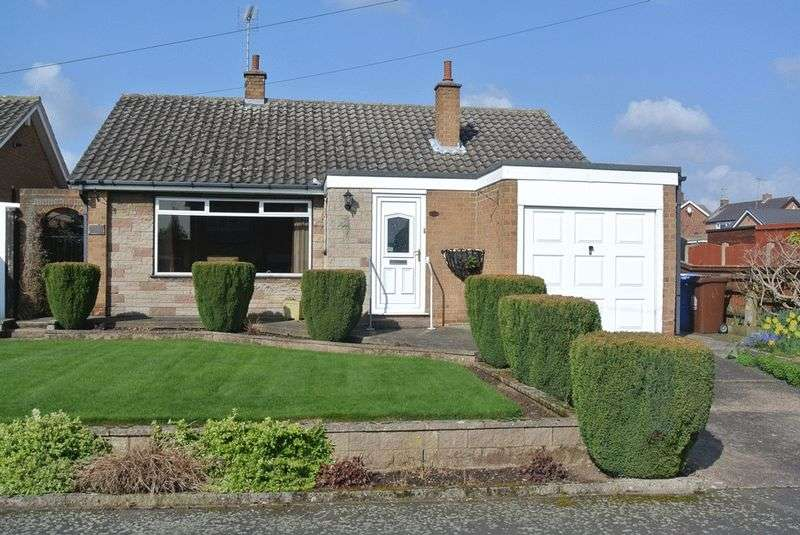 2 Bedrooms Detached Bungalow for sale in Hallifax Avenue, Old Church Warsop