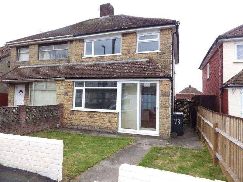3 Bedrooms Semi Detached House for sale in Rodway Road, Patchway