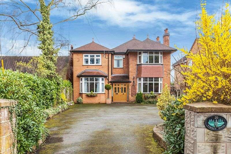 4 Bedrooms Detached House for sale in Black Firs Lane, Congleton