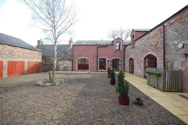 3 Bedrooms Terraced House for sale in The Byre, Charlesfield Steadings, Charlesfield, Melrose, Scottish Borders, TD6