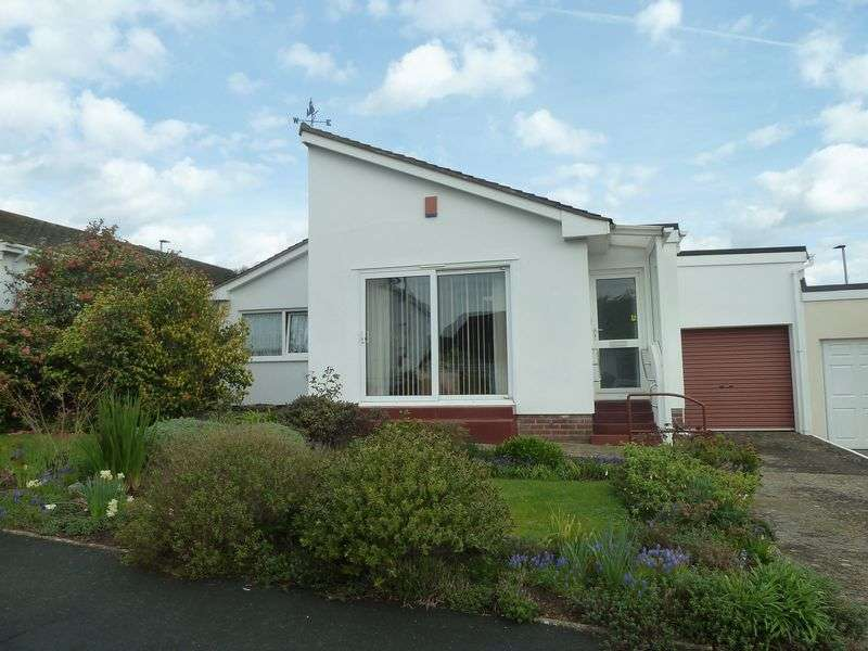 3 Bedrooms Detached Bungalow for sale in Underwood Close, Dawlish