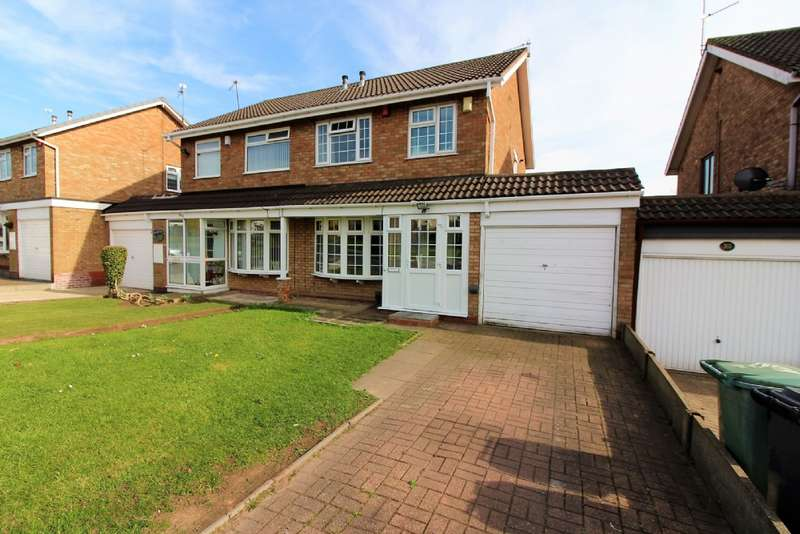 3 Bedrooms Semi Detached House for sale in Stroud Avenue, Willenhall