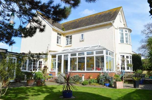 5 Bedrooms Detached House for sale in Louisa House, 32 Louisa Place, EXMOUTH, Devon