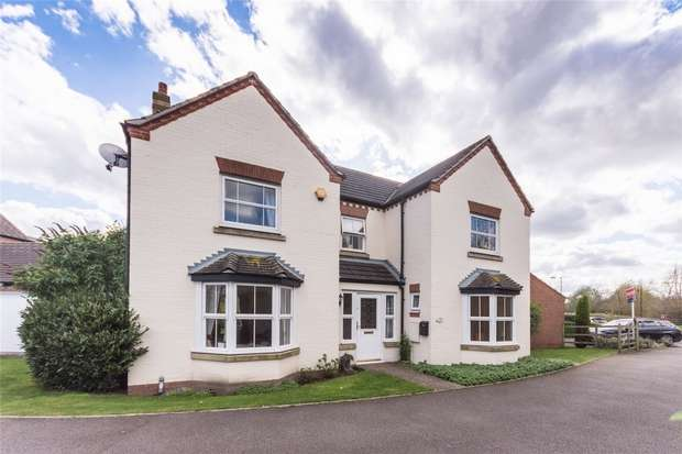 4 Bedrooms Detached House for sale in Blakeman Way, Lichfield, Staffordshire