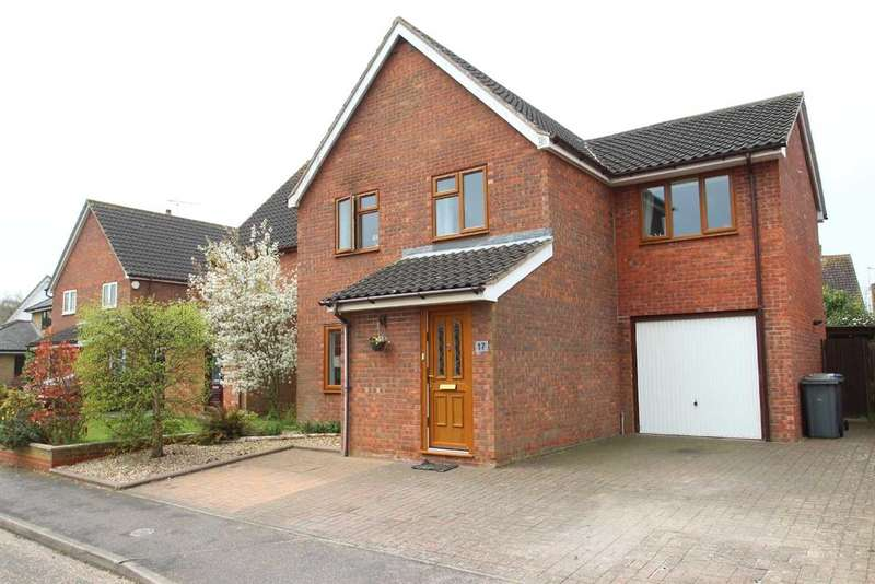 4 Bedrooms Detached House for sale in Harvesters Way, Martlesham Heath, Ipswich