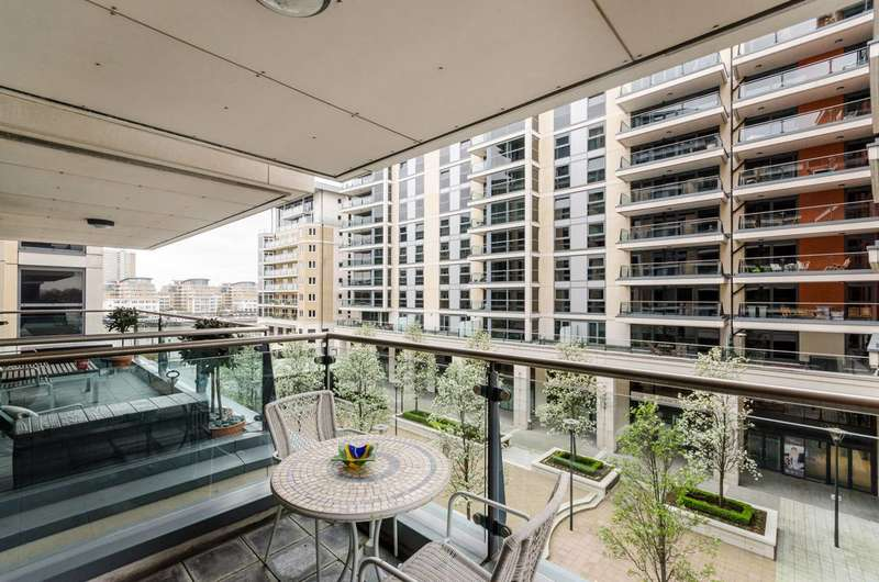 2 Bedrooms Flat for sale in Harbour Reach, Imperial Wharf, SW6