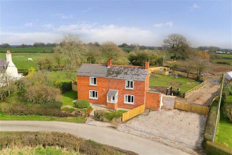 3 Bedrooms Detached House for sale in Garners Lane, Whitchurch, SY13