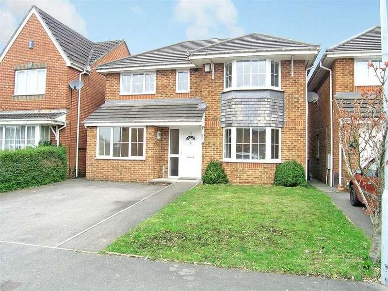 4 Bedrooms Detached House for sale in Capel Edeyrn, Pontprennau, Cardiff