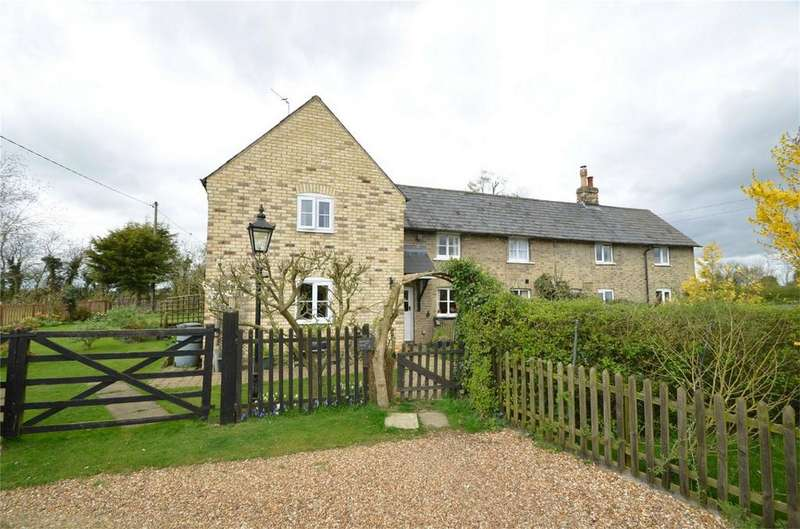 3 Bedrooms Cottage House for sale in Wheatsheaf Cottages, Wilden Road, COLMWORTH