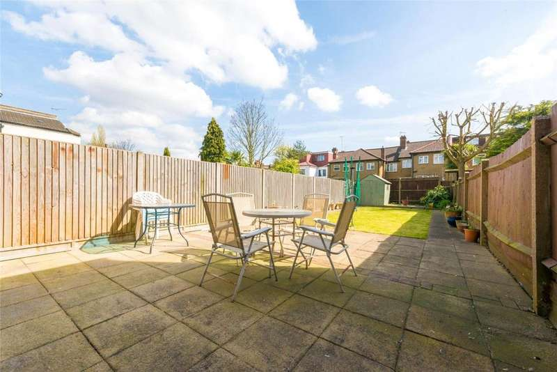 3 Bedrooms Terraced House for sale in Riffel Road, London, NW2
