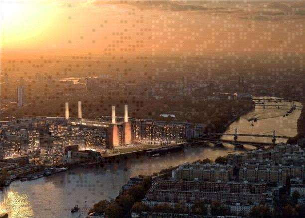 4 Bedrooms Flat for sale in Battersea Power Station, Kirtling Street, London, SW8