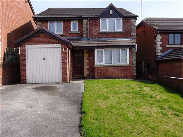 4 Bedrooms Detached House for sale in Hillstone Avenue, Rochdale