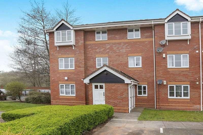 2 Bedrooms Flat for sale in Morville Croft, Bilston, WV14