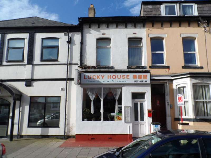 Cafe Commercial for sale in Coronation Street, BLACKPOOL, FY1 4QQ