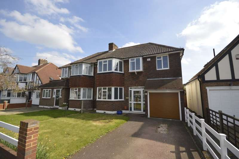 4 Bedrooms Semi Detached House for sale in Cypress Avenue, Whitton, Twickenham, TW2