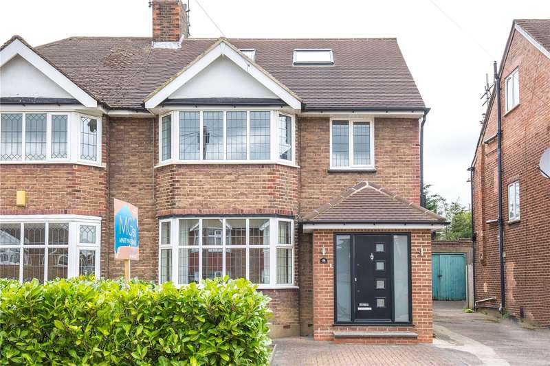 4 Bedrooms Semi Detached House for sale in Cissbury Ring South, Woodside Park, London, N12
