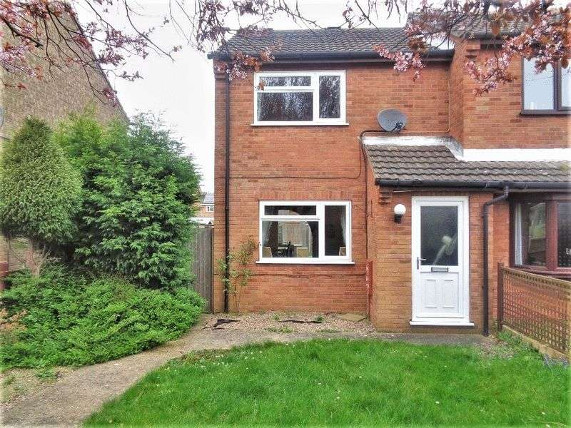 2 Bedrooms Semi Detached House for sale in Rivehall Avenue, Welton