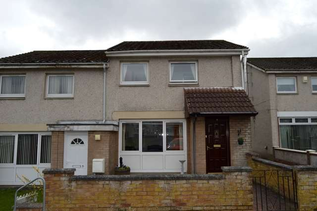 2 Bedrooms End Of Terrace House for sale in Ashkirk Drive, Larkhall, ML9 3AX