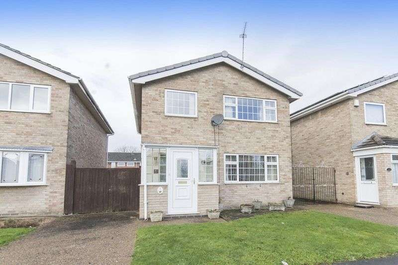 3 Bedrooms Detached House for sale in Malin Close, Derby
