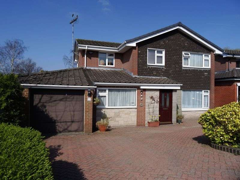 4 Bedrooms Detached House for sale in Trinity Lane, Macclesfield
