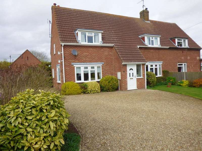 4 Bedrooms Semi Detached House for sale in Mallard Road, Low Fulney