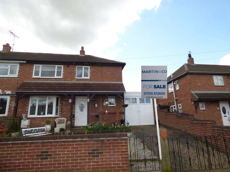 3 Bedrooms Semi Detached House for sale in Wilkes Avenue, Measham