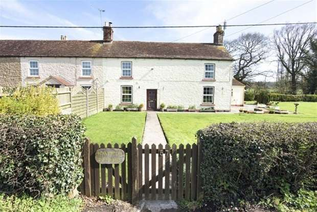 3 Bedrooms Terraced House for sale in West Woodlands, Frome
