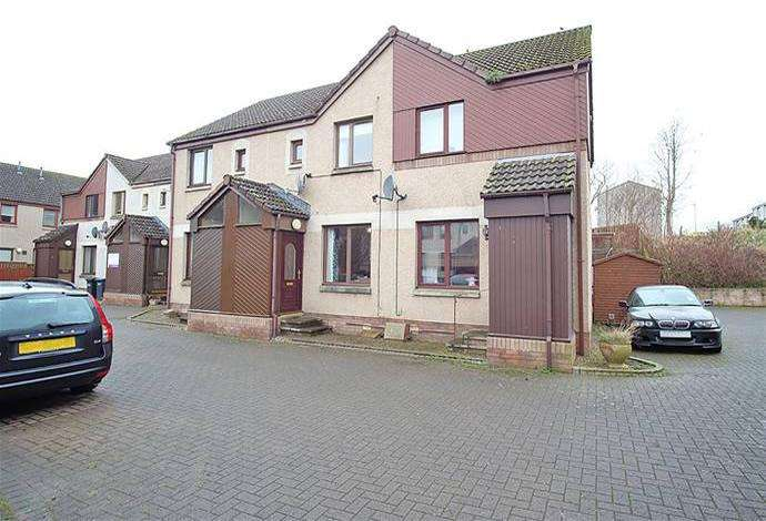 2 Bedrooms Terraced House for sale in 15 Howden Park, Jedburgh, TD8 6PZ
