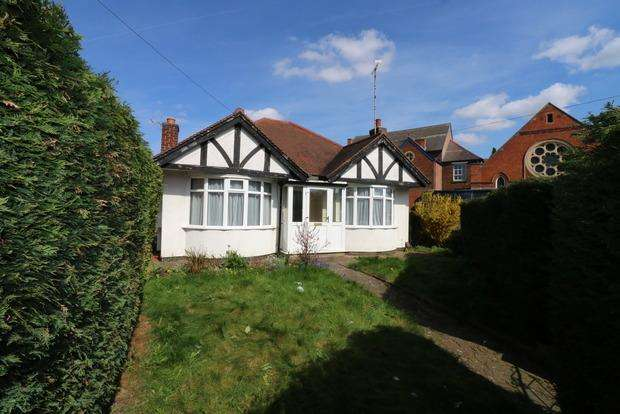 2 Bedrooms Detached Bungalow for sale in Moat Street, Wigston, Leicester, LE18